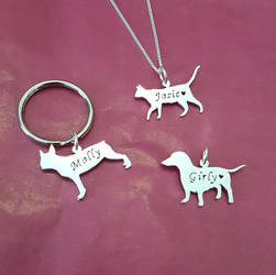 ... your heart. These handcrafted animal pendants and charms from Starbright Jewellery are sterling silver, and each one is individually cut out by hand.